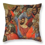 Crucifixion Fragment 1311  Throw Pillow