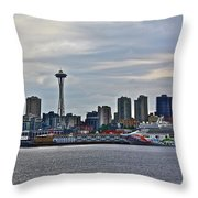 Cruise Ahead Throw Pillow