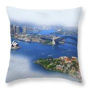 Cruise Sydney Throw Pillow
