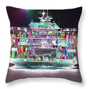 Cruisin Throw Pillow