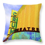 Crum Of The Crump Throw Pillow