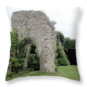 Crumbling Arch Throw Pillow