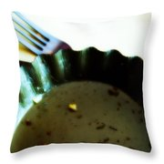 Crumbs Throw Pillow