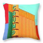 Crump Color Throw Pillow