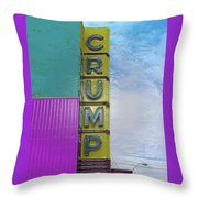 Crump Water Throw Pillow