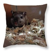Crumpet In The Morning Throw Pillow