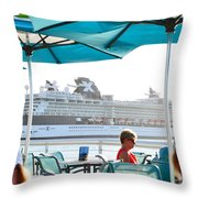 Cruse Float By Throw Pillow