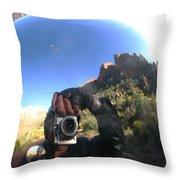 Crusin' Zion Throw Pillow