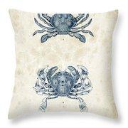 Crustaceans - 1825 - 05 Throw Pillow