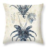 Crustaceans - 1825 - 28 Throw Pillow