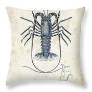 Crustaceans - 1825 - 30 Throw Pillow