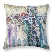 Crux 4 Throw Pillow