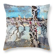 Crux 7 Throw Pillow