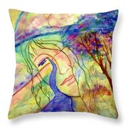 Cry Me A River Throw Pillow