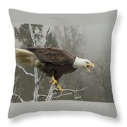 Cry Of Freedom Throw Pillow