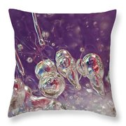 Cryogenesis Throw Pillow