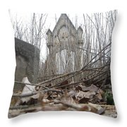 Crypt Vestry  Throw Pillow