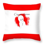 Cryptic Grimm Throw Pillow