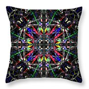 Crysexas Throw Pillow