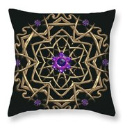 Crystal 19 Throw Pillow