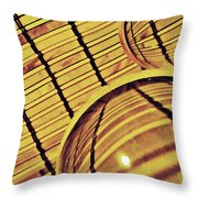 Crystal Ball Project 100 Throw Pillow