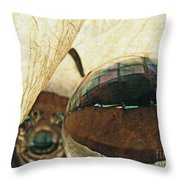 Crystal Ball Project 120 Throw Pillow
