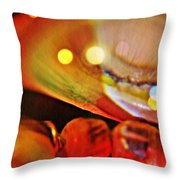 Crystal Ball Project 13 Throw Pillow