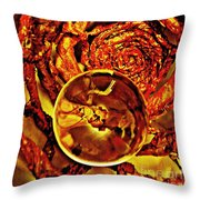 Crystal Ball Project 14 Throw Pillow