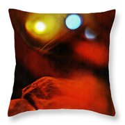 Crystal Ball Project 25 Throw Pillow