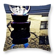 Crystal Ball Project 62 Throw Pillow