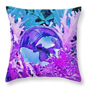Crystal Ball Project 66 Throw Pillow