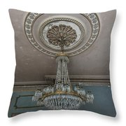 Crystal Beads Throw Pillow