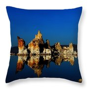 Crystal Blue Persuation Throw Pillow