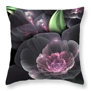 Crystal Bouquet Throw Pillow