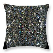 Crystal Cool Throw Pillow