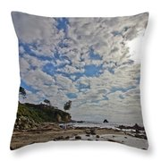 Crystal Cove Too Throw Pillow