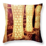 Crystal Dresses Throw Pillow