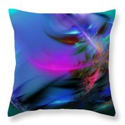 Crystal Egg Throw Pillow