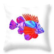 Crystal Fish - 20 Throw Pillow