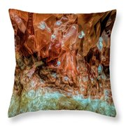 Crystal Formations Throw Pillow
