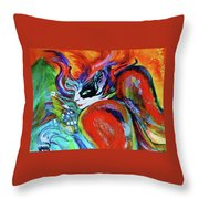 Crystal Future - Part Throw Pillow