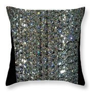 Crystal Ice Throw Pillow