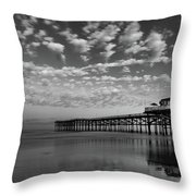 Crystal In Chrome Throw Pillow