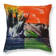 Crystal Quarry Throw Pillow