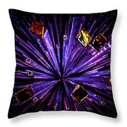 Crystal Reports Throw Pillow