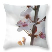 Crystal Sprout Throw Pillow