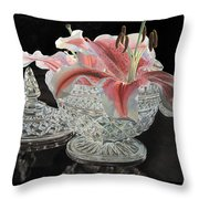 Crystal Stargazer Throw Pillow