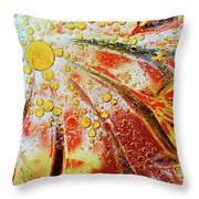 Crystal Sunburst Throw Pillow