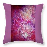 Crystallization - Stellar  Throw Pillow