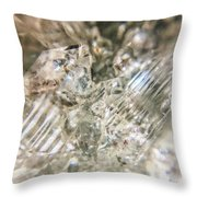 Crystals And Stones Zeolite 4718 Throw Pillow